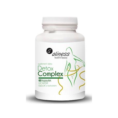 Detox Complex - 60 kapsułek Licaps. Aliness